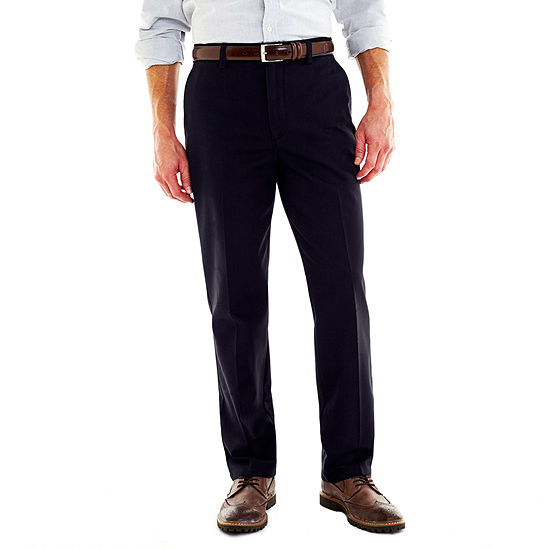 38ac30379e St Johns Bay Worry Free Flat Front Pants JCPenney