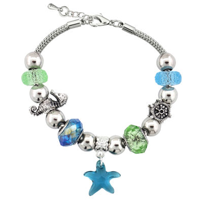 Dazzling Designs™ Starfish Artisan Bead Bracelet