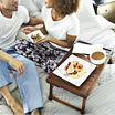 Gibson® Natural Trends Acacia Wood Bed Tray