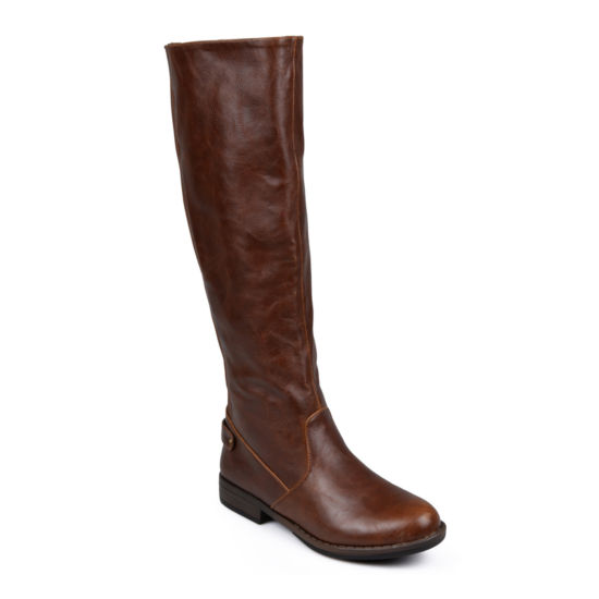 Journee Collection Lynn Wide Calf Riding Boots