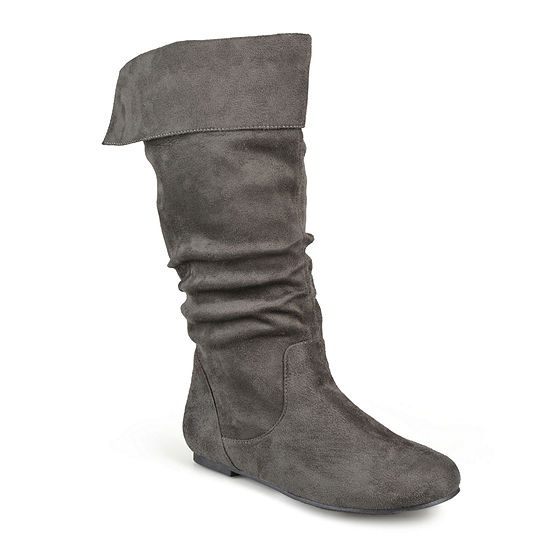 Journee Collection Womens Shelley Wide Calf Slouch Boots