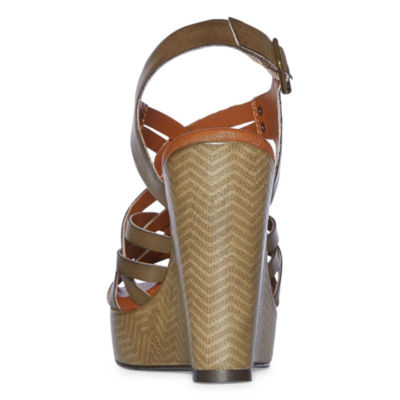 Just Dolce By Mojo Moxy Sachet Womens Wedge Sandals