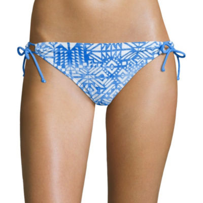 Arizona Mix & Match Side-Tie Hipster Swim Bottoms - Juniors