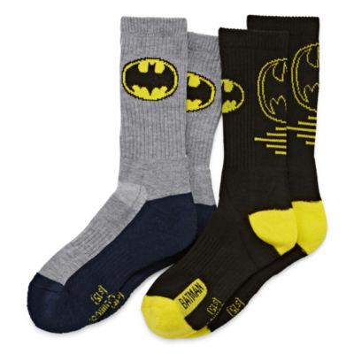 Batman Crew Socks 2-pc.