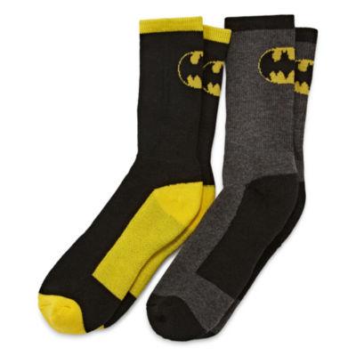 Licensed Properties Batman Crew Socks 2-pc.