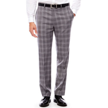 Collection by Michael Strahan  Plaid Slim Fit Suit Pants - Slim