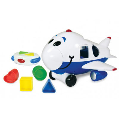 The Learning Journey Remote Control Shape Sorter -Jumbo The Jet Plane