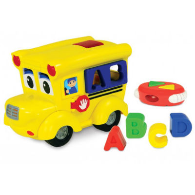 The Learning Journey Remote Control Shape Sorter -Letterland School Bus
