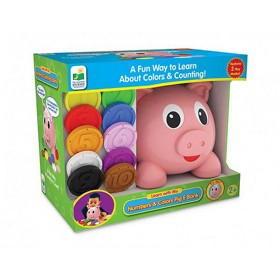 The Learning JourneyLearn with Me Numbers and Colors Pig E Bank