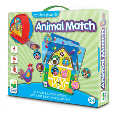 The Learning Journey My First Grab It! - Animal Match