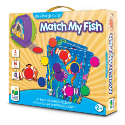 The Learning JourneyMy First Grab It! Match My Fish
