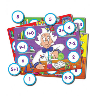 The Learning Journey Grab It! - Mathematics Lab Puzzle