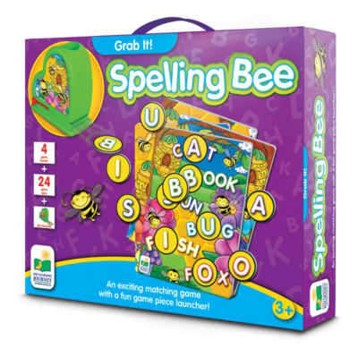 The Learning Journey Grab It! - Spelling Bee Puzzle