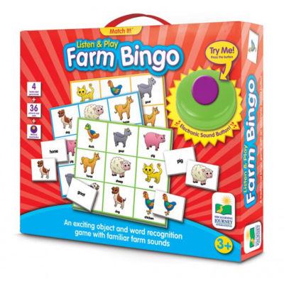 The Learning Journey Match It! Listen & Play Bingo