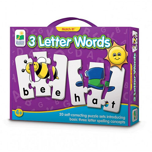 The Learning Journey Match It! - 3 Letter Words 60-pc. Puzzle