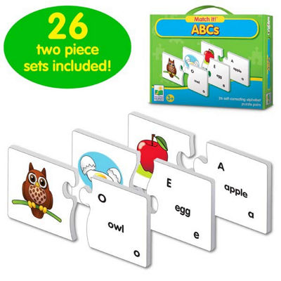 The Learning Journey Match It! - Abcs Puzzle