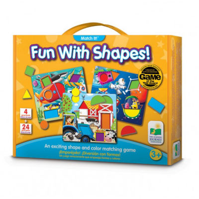The Learning Journey Match It! - Fun With Shapes Puzzle
