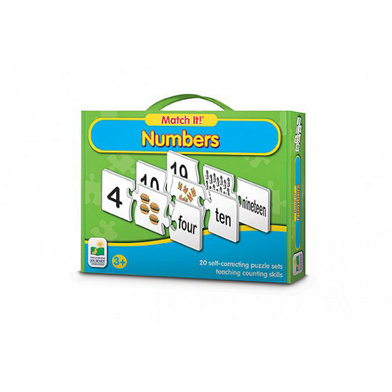 The Learning Journey Match It! - Numbers