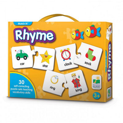 The Learning Journey Match It! - Rhyme 60-pc. Puzzle