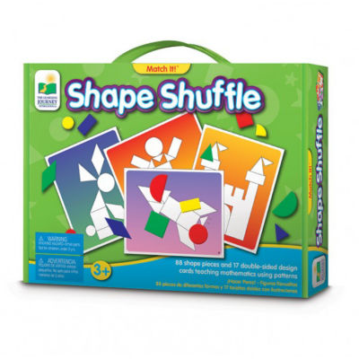 The Learning Journey Match It! - Shape Shuffle