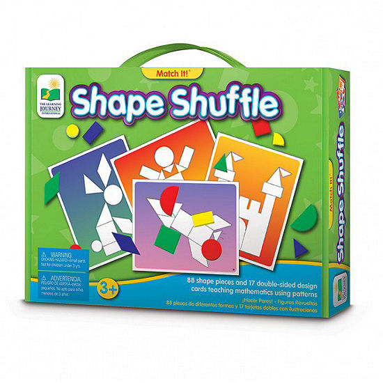 The Learning Journey Match It! - Shape Shuffle