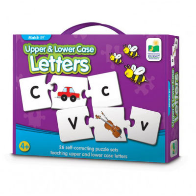 The Learning Journey Match It! - Upper & Lower Case Letters