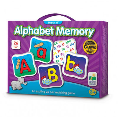 The Learning Journey Match It! Memory - Alphabet Puzzle