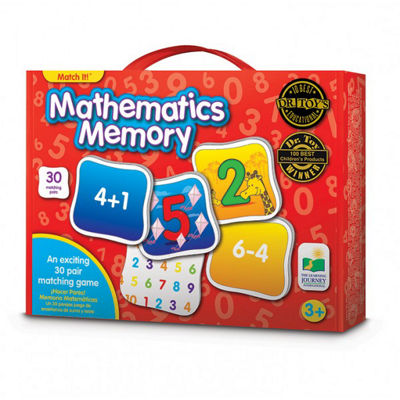 The Learning Journey Match It! Memory - Mathematics Puzzle