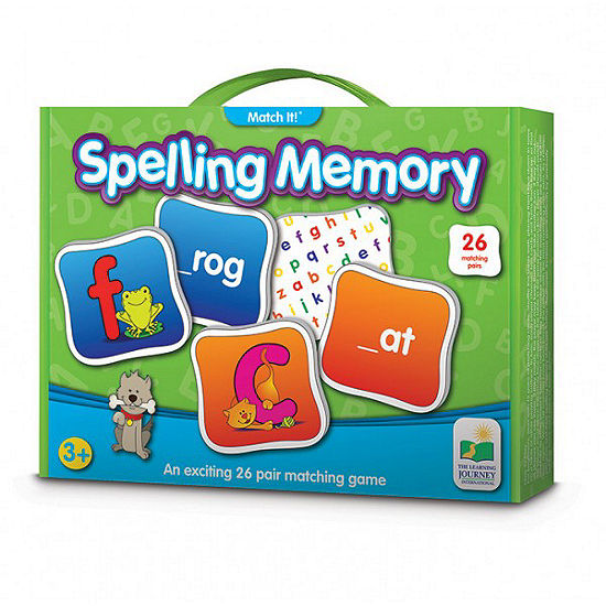 The Learning Journey Match It! Memory - Spelling Puzzle