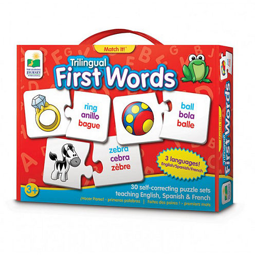 The Learning Journey Trilingual Match It! First Words