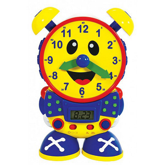 The Learning JourneyTelly The Teaching Time Clock-Primary Colors