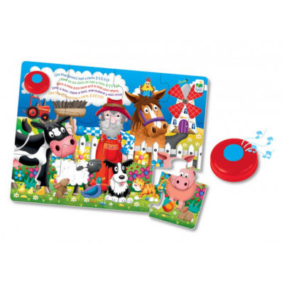 The Learning Journey My First Sing Along Puzzle -Old MacDonalds Farm