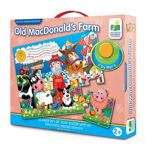 The Learning JourneyMy First Sing Along Puzzle OldMacDonald's Farm