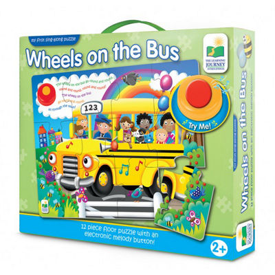 The Learning Journey My First Sing Along Puzzle -Wheels on the Bus