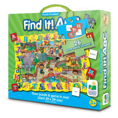 The Learning Journey Puzzle Doubles - Find It! ABC