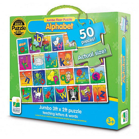 The Learning Journey Jumbo Floor Puzzles  - Alphabet Floor Puzzle