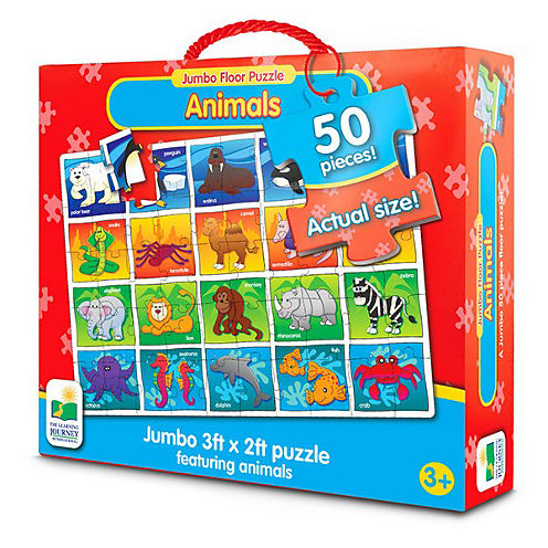 The Learning JourneyJumbo Floor Puzzles Animals