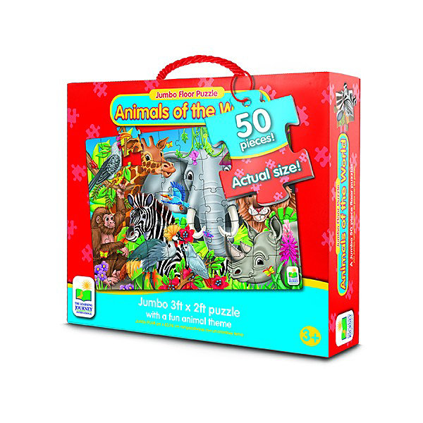 The Learning Journey Jumbo Floor Puzzles  - Animals of the World