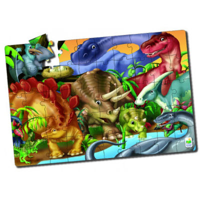 The Learning Journey Jumbo Floor Puzzles  - Dinosaurs