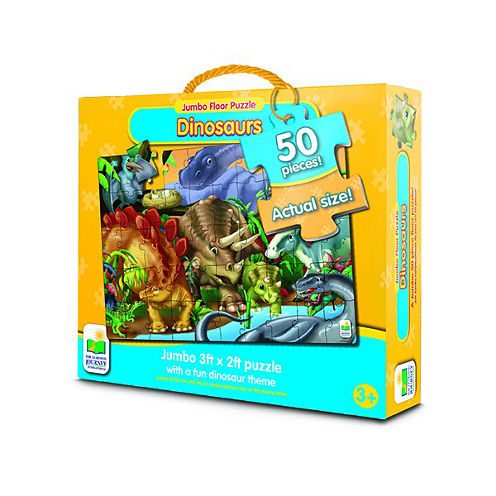 The Learning JourneyJumbo Floor Puzzles, Dinosaurs