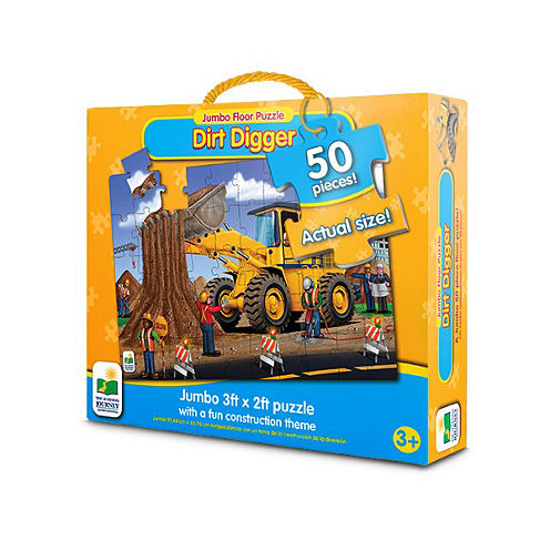 The Learning JourneyJumbo Floor Puzzles, Dirt Digger Floor Puzzle