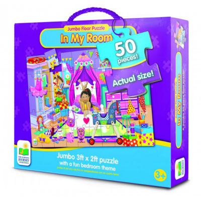 The Learning Journey Jumbo Floor Puzzles - In My Room