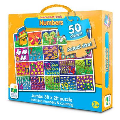 The Learning Journey Jumbo Floor Puzzles - NumberFloor Puzzle
