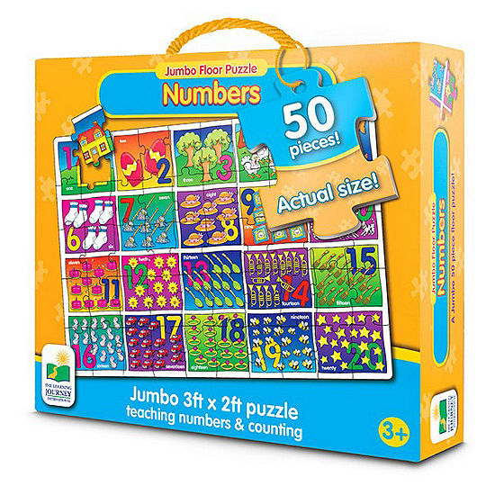 The Learning Journey Jumbo Floor Puzzles - NumberFloor Puzzle