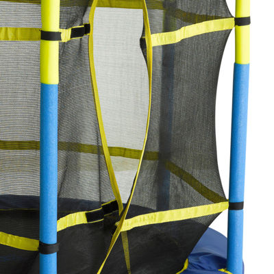 "Upper Bounce 55"" Kid-Friendly Trampoline & Enclosure Set"