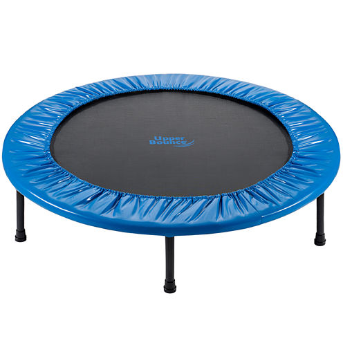 """Upper Bounce® 36"""" Mini 2 Fold Rebounder Trampoline with Carry-on Bag Included"""