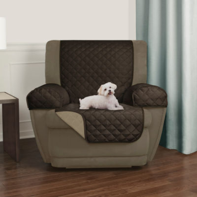 Maytex Smart Cover® Reversible Quilted Microfiber 3 Piece Recliner Chair Furniture Pet Cover Protector