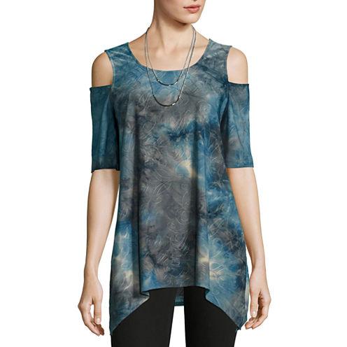 Alyx Knit Cold Shoulder Top