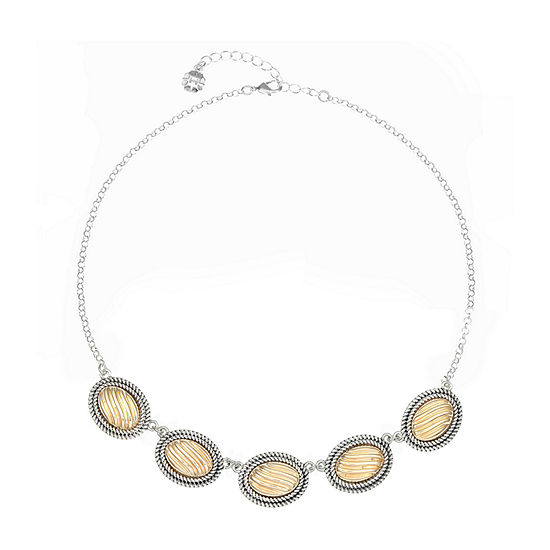 Monet Jewelry 17 Inch Cable Collar Necklace