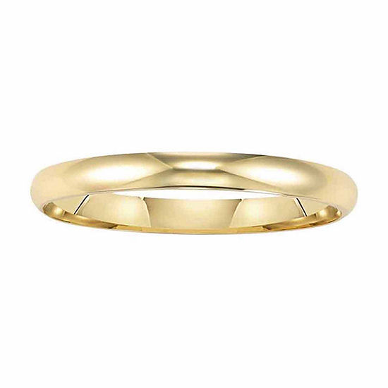 2 Mm 14K Gold Wedding Band